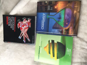 Human biology, anatomy and physiology. Introductory Chemistry