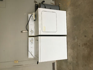 Used Kenmore washer and dryer