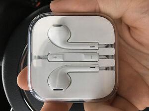 Brand new apple headphones. In box.