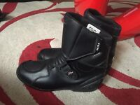 TCX X-miles motorcycle boots size 10 waterproof