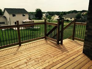 Decks starting at $5/square foot. Limited time only! Kitchener / Waterloo Kitchener Area image 3