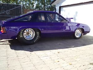 79 Dodge Omni Don Ness drag race car 6.0 second chassis 25.1