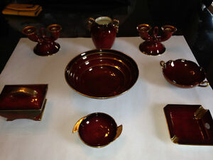 Carlton Ware Vintage Rouge Royale made in England Red & Gold Dec Gatineau Ottawa / Gatineau Area image 8