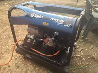 Generator lpg and petrol.