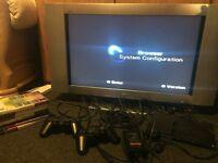 Sony TV+PS2