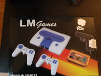 Lm games console with 1 million games-sealed BRAND NEW!