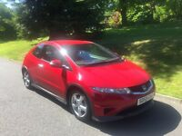 2009 HONDA CIVIC TYPE S 1.4 PETROL FOR SALE!! 58000 MILES!! FINANCE AVAILABLE