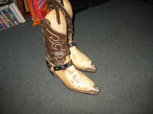 botte de cowboy unique