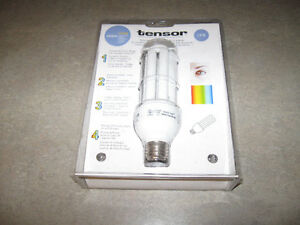 Tensor Natural Daylight Bulb-new and sealed-18 watt bulb + more