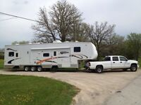 06 Sportsman Sportster 5th Wheel Toy Hauler