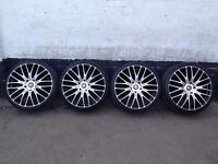 Porcshe 20'' wheels with bolts & New Tyres