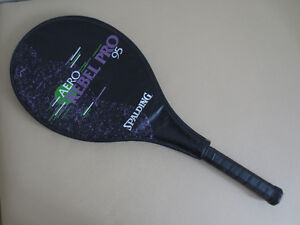 Spalding Tennis Racket & Case Great Condition