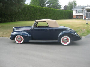 1939 Ford Deluxe Cabriolet Rumble Seat Hot rod