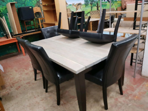 DINING TABLE SET WITH 2nd TOP