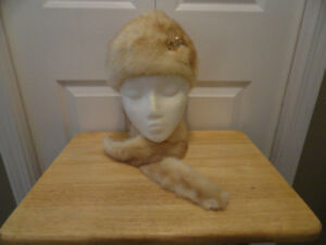 Women's Fur Hat & Woolen Hats - Very Good Condition