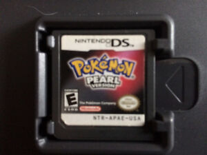 Pokemon Pearl and Soul Silver DS Games