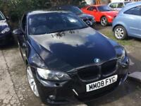 BMW 320 2.0 2008MY i M Sport Convertible , non runner , hpi clear