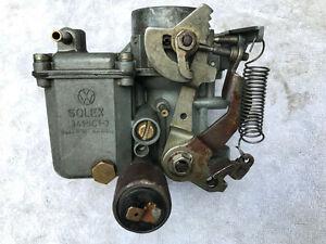 VW Classic Vintage 34PICT3 German Solex Carb BEETLE VAN 71-74