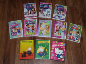 DVDS FOR GIRLS *ENGLISH ONLY*  $15 FOR ALL!