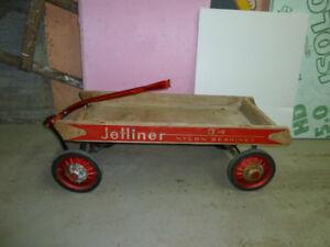 Brouette enfant en bois Jetliner