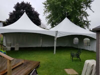 Party tents chairs tables rental