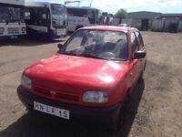 LEFT HAND DRIVE NISSAN MICRA