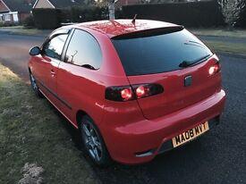 1.4 08 Red Seat Ibiza £2100 Ono