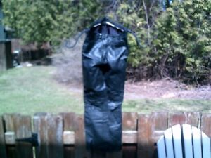 """Black Leather Size 30"""" Men's Motorcycle Leather Pants"""