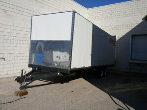 24ft Enclosed trailer for sale $8500 Available Immediately