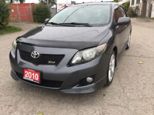 2010 Toyota Corolla Sport XRS