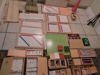Montessori materials for casa