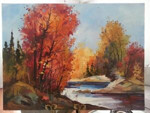 Gyula Marosan - Landscape and Abstract Oil Painting Collection London Ontario image 2