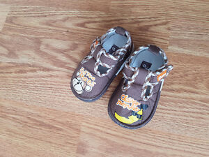 Variety of toddler shoes
