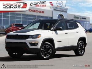 2017 Jeep Compass Trailhawk  HEATED LEATHER | NAV | REMOTE START