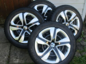 HONDA CIVIC  WINTER TIRES + RIMES  205/55/16