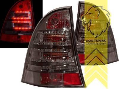 LED Rückleuchten Heckleuchten für Mercedes Benz S203 T-Modell C-Kl schwarz smoke