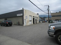 4 bay commercial building   In High  Profile area of Vernon