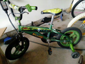 Toy Story Kids Bike 14 Inch with Training Wheels