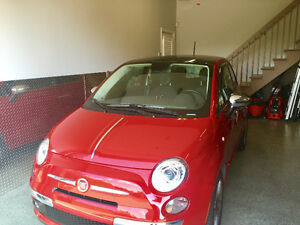 Fiat 500 Lounge - 8,000km - All equiped - 8 tires on Mags