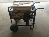 Robin Subaru RGV6100 Recoil Start Industrial Portable Generator