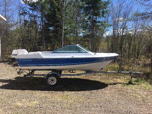 14 foot fiberglass boat $750