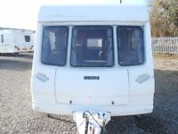 SOLD!! 2000 Lunar Delta 640 Twin axle 4 berth caravan