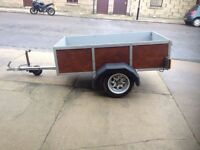 Refurbed trailer for sale.