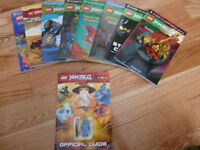 Ninjago Graphic Novels and Official Guide