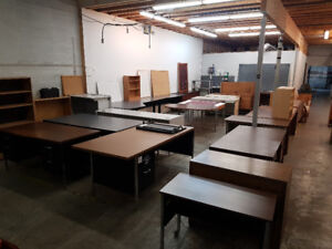 Used Office Furniture - Auction Remnants FREE - TUESDAY AFT/EVE