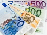 Will Buy All Euros Currency - Coin and Bills