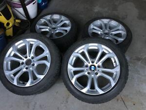 Bmw mags et pneus hiver clouté
