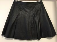 Warehouse genuine leather skirt
