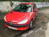 Peugeot 206 1.4 8v ( a/c ) 2005MY S 1 PREVIOUS OWNER,MARCH 2018 MOT