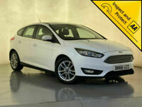 2016 66 FORD FOCUS ZETEC TDCI PARKING SENSORS £0 ROAD TAX 1 OWNER SVC HISTORY